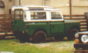 LAND ROVER S II